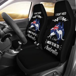 Australia Car Seat Covers Unisersal Fit - I Just Need To Go To Australia