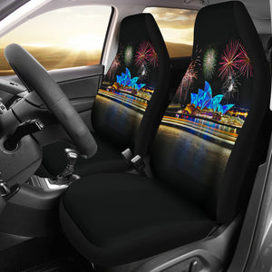 Australia Car Seat Covers Unisersal Fit - Sydney Opera House