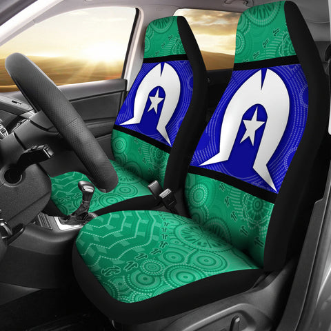 1stAustralia Car Seat Covers, Torres Strait Islands Aboriginal Patterns