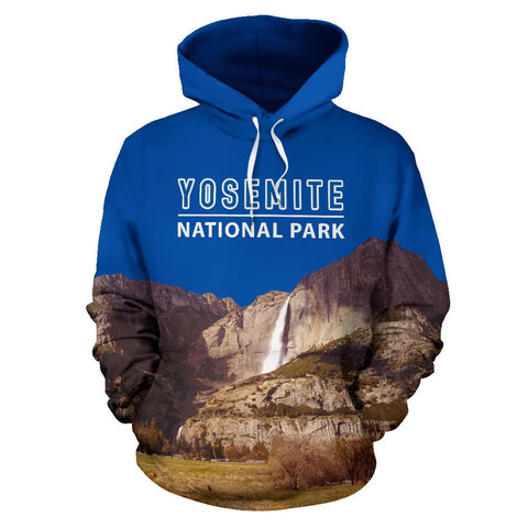 Australia Hoodie Yosemite Waterfall National Park