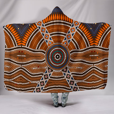 Image of Australia Aboriginal Hooded Blanked 1