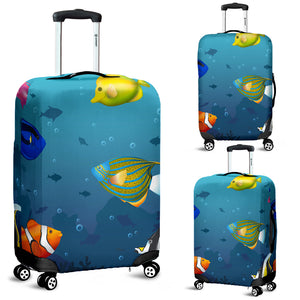 Australia Fish Luggage Cover