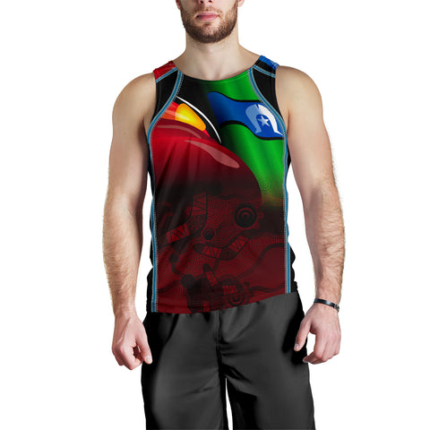 1stAustralia Aboriginal Men's Tank Top, Naidoc  Week