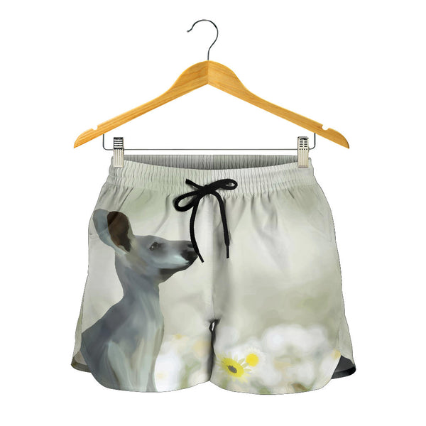 Australia All Over Print Womens Shorts Kangaroo 03