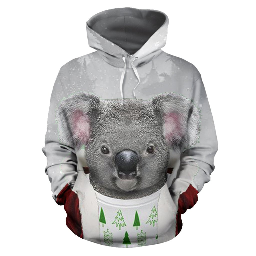 Australia Koala Claus ChristmasŠܢ Hoodie Front For Men And Women