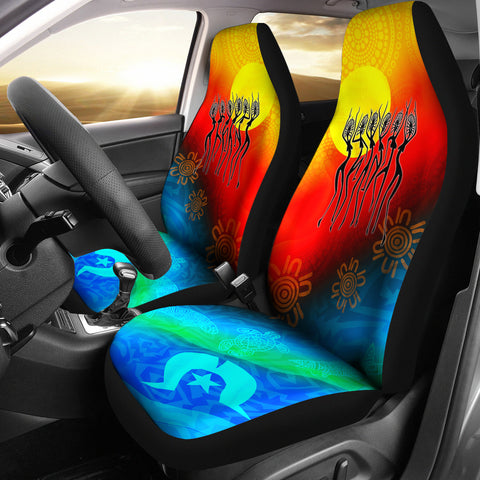 1stAustralia Naidoc Car Seat Covers  - Proud To Be