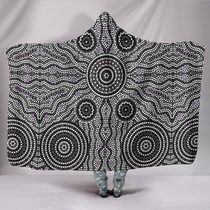 Australia Aboriginal Hooded Blanket 3