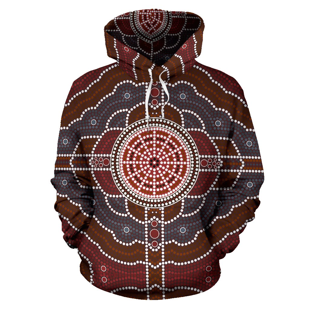 Plus Aboriginal All Over Hoodie |Men&Women| Clothing