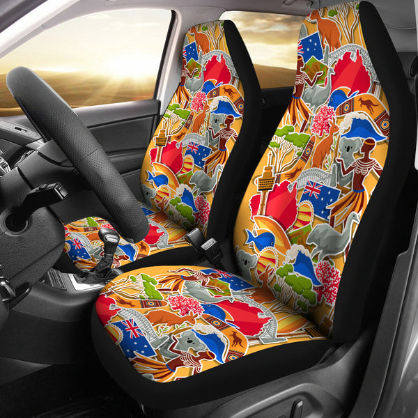 Australia Car Seat Covers Universal Fit Symbol