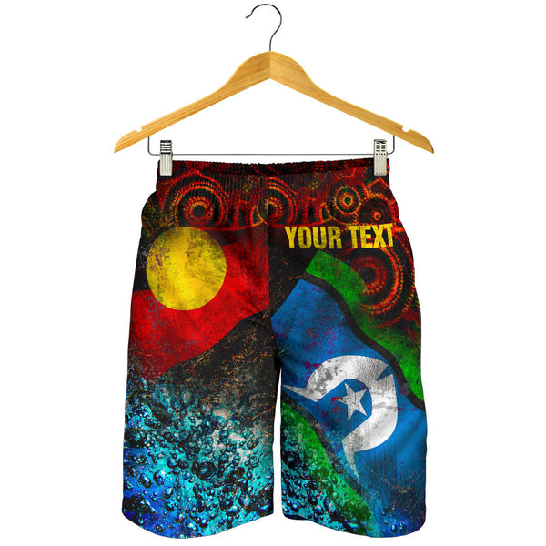 [Custom] 1stAustralia Men's Shorts - Always Was, Always Will Be Naidoc Week 2020