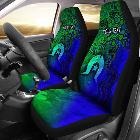 [Custom] 1stAustralia Aboriginal Car Seat Covers , Torres Strait Islands Flag