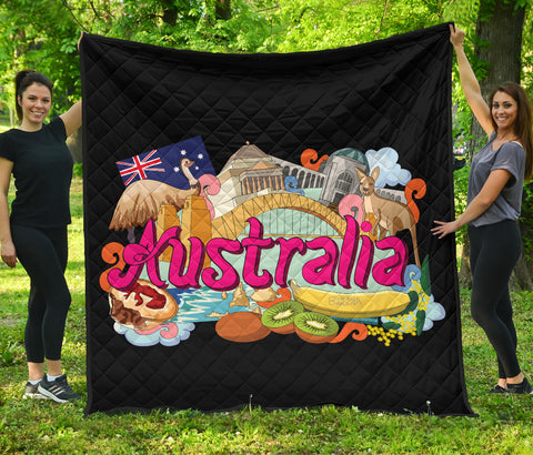 Image of Australia Premium Quilt Architecture and Culture