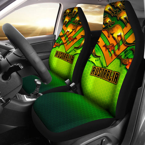 1stAustralia Car Seat Covers - Australian Kangaroo Seat Covers Aussie National Colors