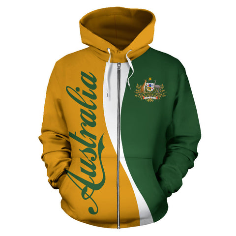 Australia Hoodie (Zip-Up) Wave Version