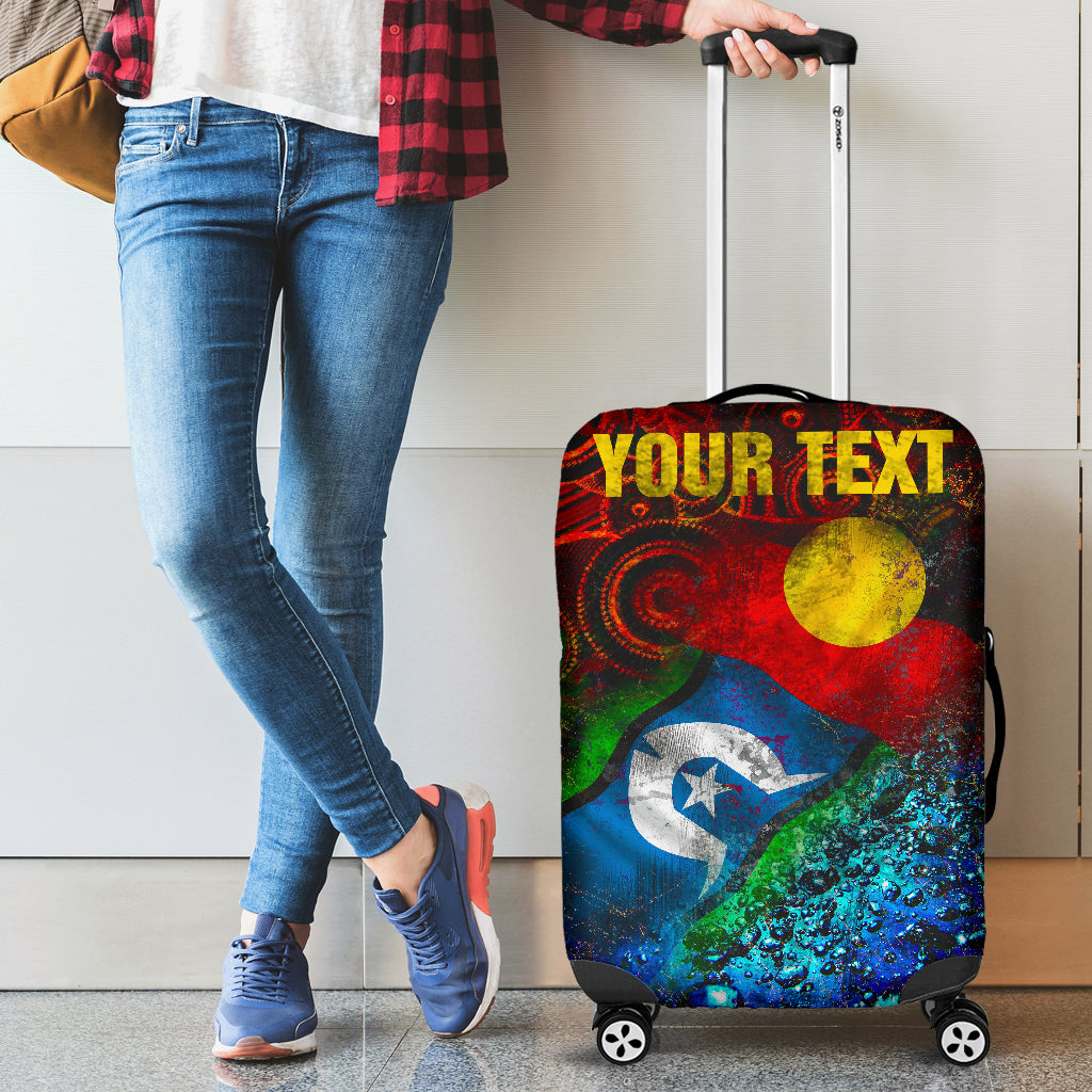 [Custom] 1stAustralia Luggage Covers - Always Was, Always Will Be Naidoc Week 2020