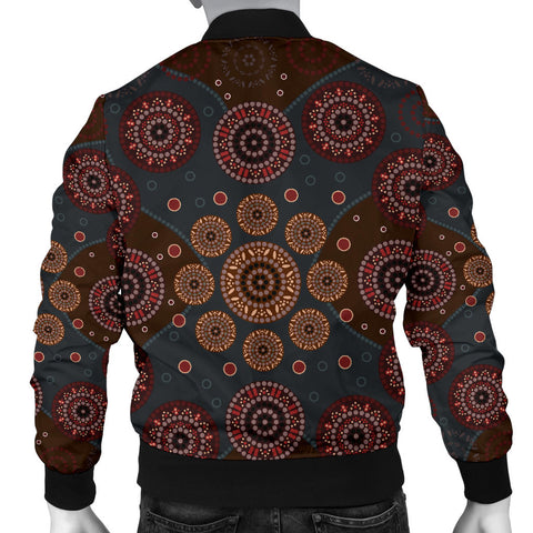 Australia Mens Bomber Jacket Aboriginal 02 TH1