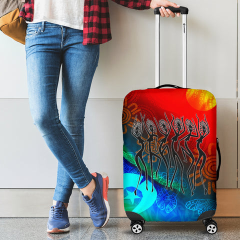 1stAustralia Naidoc Luggage Covers  - Proud To Be