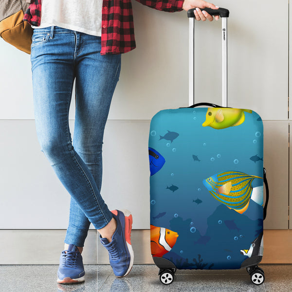 1stAustralia Luggage Cover - Fish Suitcase Ocean Finding Nemo - Th1