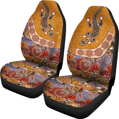 Image of Australia Car Seat Covers - Australia Pattern - BN1401