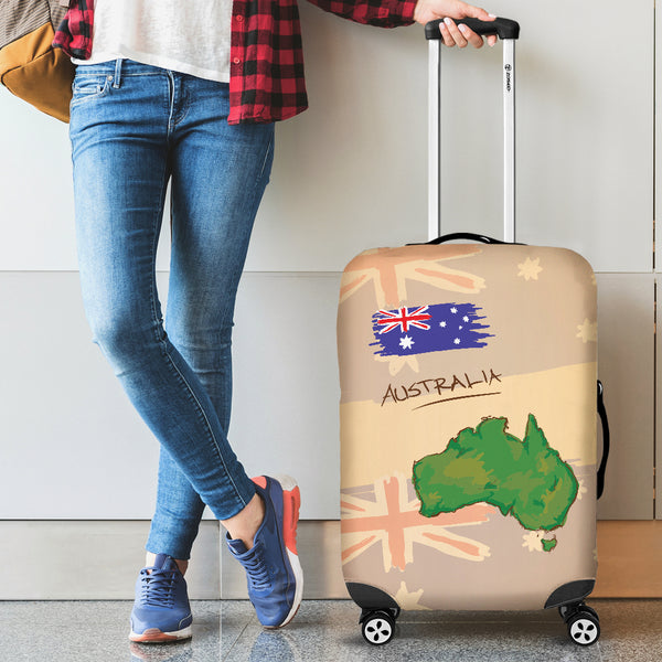 Australia, Australian, Aussie, rr_track_australia, Luggage Covers, Accessories, Australia Car Seat Covers