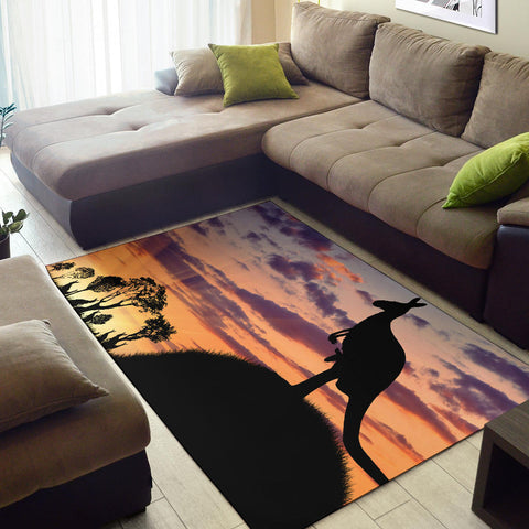 Australia Area Rug Kangaroo 07 TH1