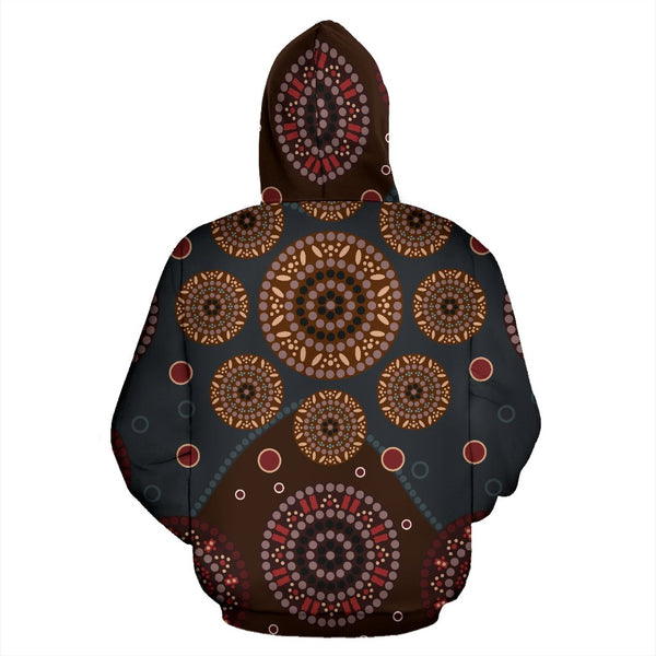 Beautifull Aboriginal Pattern All Over Hoodie |Men&Women| Clothing