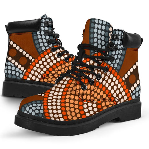 Australia All-season Boots - Aboriginal Pattern 05
