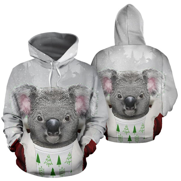 Australia Koala Claus ChristmasŠܢ Hoodie For Men And Women