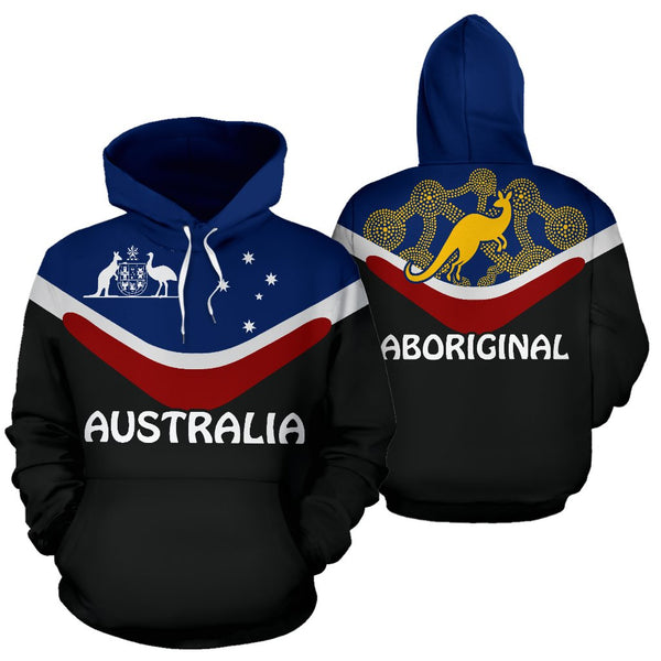 Australia Aboriginal Pullover Hoodie | Love The World