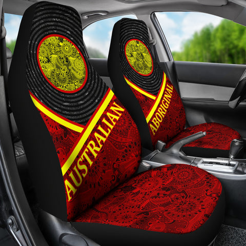 Australia Car Seat Covers - Australia Pattern - BN1402