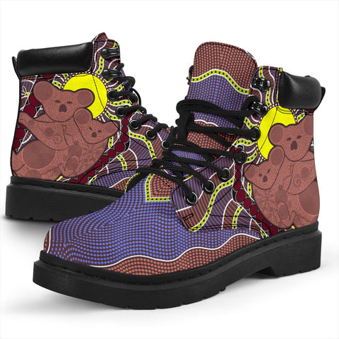 Australia All-season Boots - Aboriginal Koala