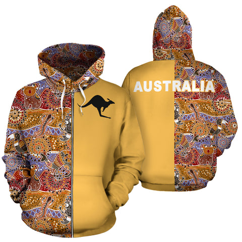 Image of Australia Hoodie Aboriginal TH3