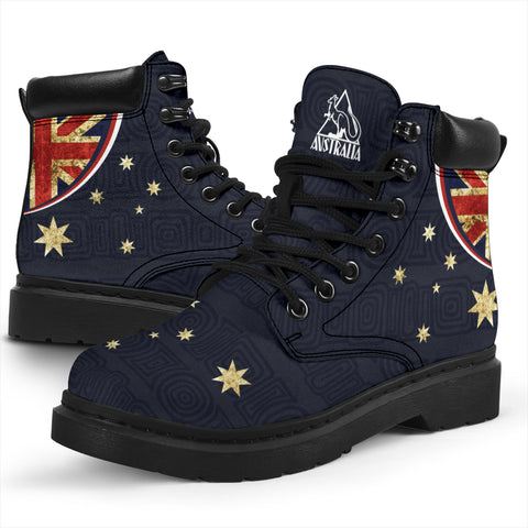 Australia Boots (All-Season) Flag Vintage