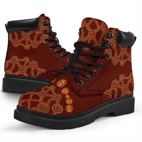Image of Aussie Flowers All-Season Boots