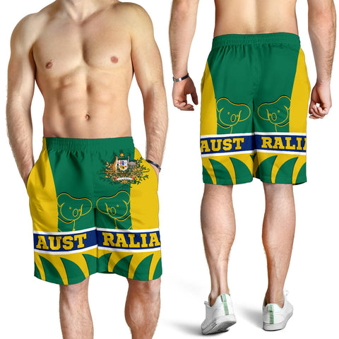 1stAustralia Shorts - Australian Coat Of Arms Short Koala - Men