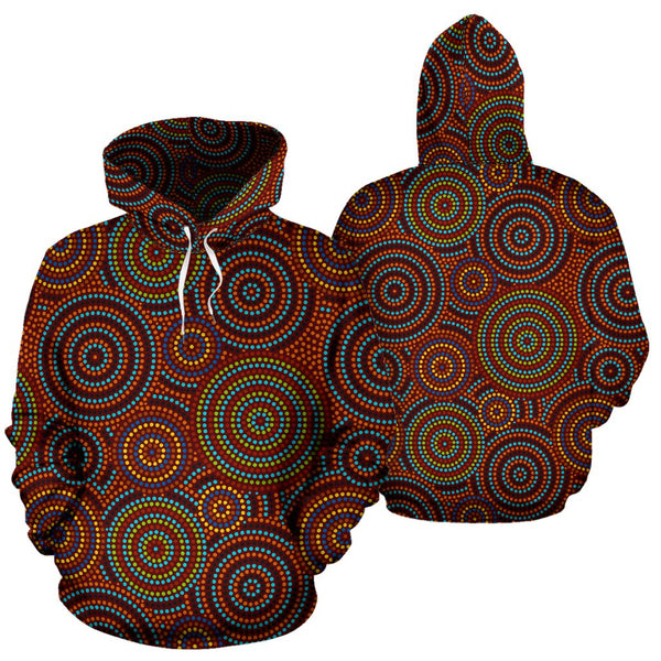 Color Aboriginal All Over Hoodie |Men&Women| Clothing