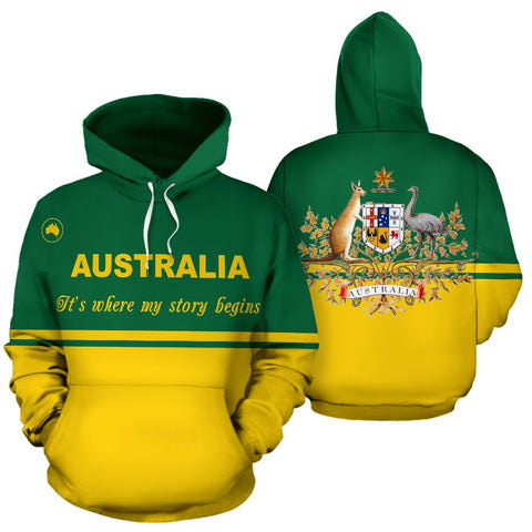 Hoodies Australia - Its Where My Story BeginsŠܢ By 1staustralia for Men and Women