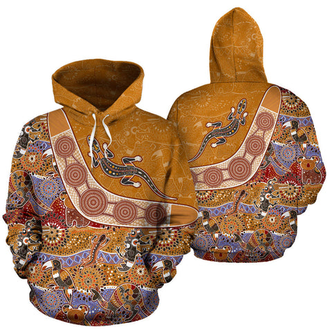 Image of Australia Pattern Style - All Over Print Hoodie - MRP