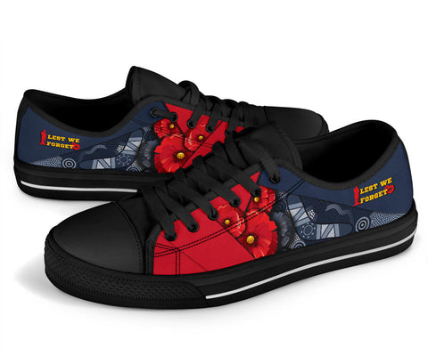1stAustralia Aboriginal Low Top Shoes, Anzac Day