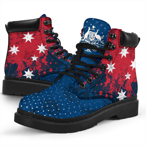 1stAustralia All Season Boots - Australian Southern Cross with Coat of Arms