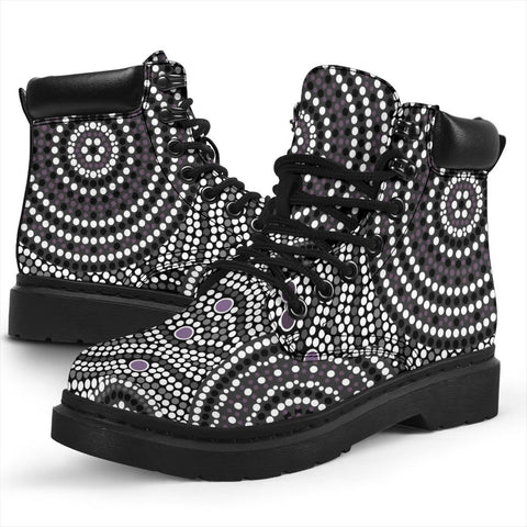 Australia All-season Boots - Aboriginal Pattern 04