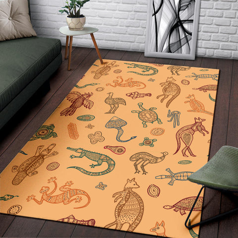 Australia Area Rug Animals TH1
