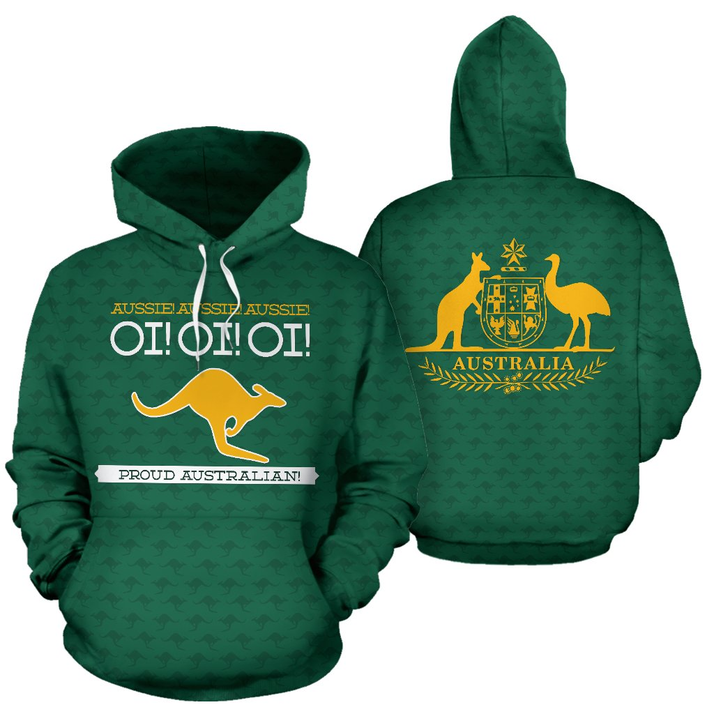 Australia Day - Proud Australian Pullover Hoodie | HOT Sale