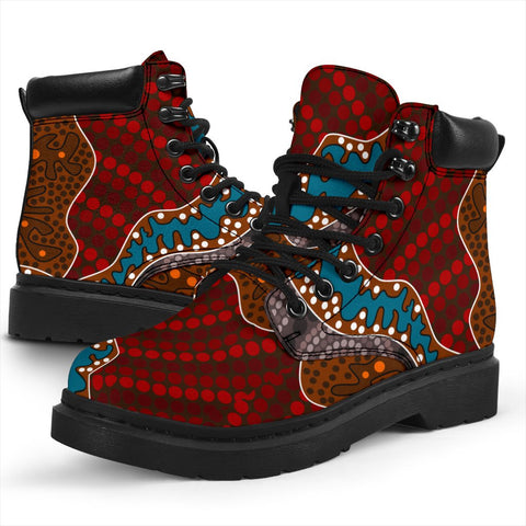 Australia All-season Boots - Aboriginal Pattern 06