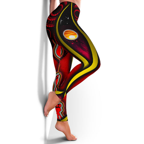 1stAustralia Leggings - Australian Aboriginal Flags Symbolic Meaning - BN19