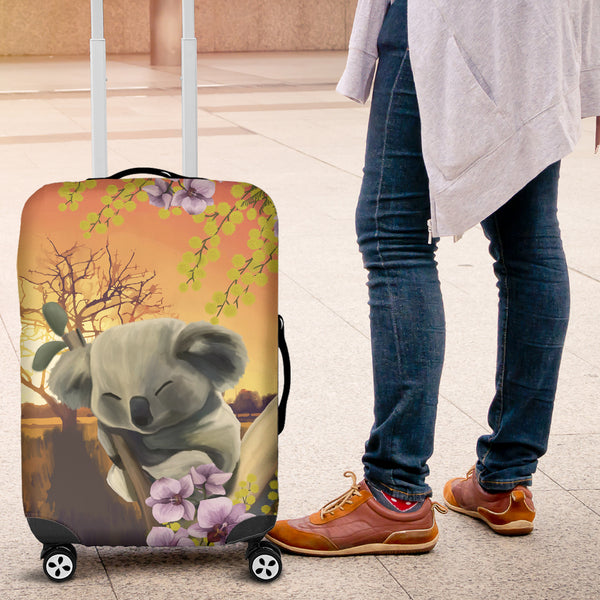 Australia Luggage Cover Koala Sleep