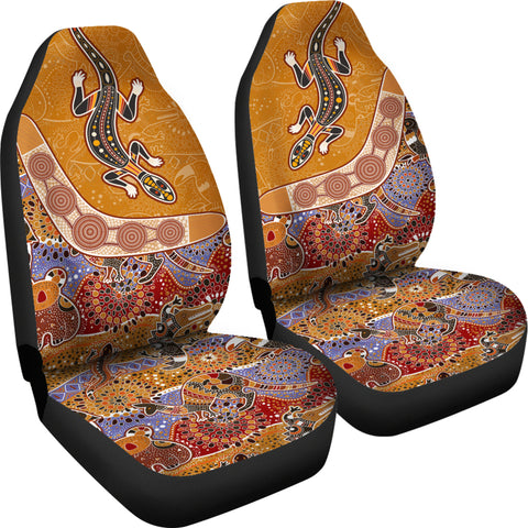 Image of Australia Car Seat Covers - Australia Pattern - MRP01