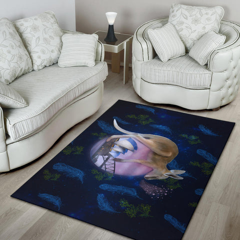 Australia Area Rug Kangaroo 03 TH1