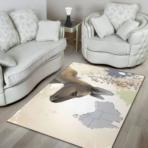 Australia Area Rug Kangaroo 02 TH1
