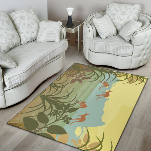 Australia Area Rug Kangaroo 06 TH1